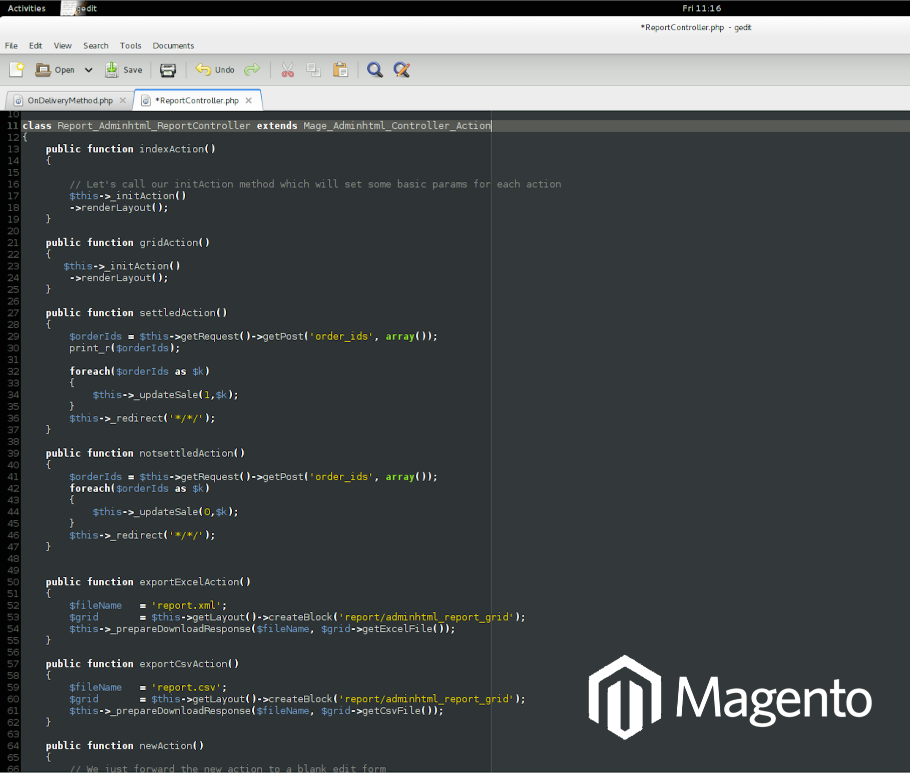 The Magento E-Commerce System